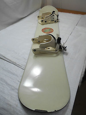 CPU 156 Snowboard with Bindings Wood Core Hand Made in Austria with Bag  #36