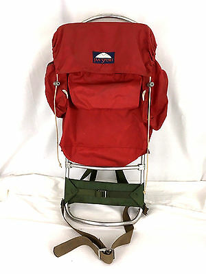 vintage jansport seattle external frame hiking backpack camping - External Frame Hiking Backpack