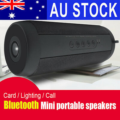 Portable Wireless Bluetooth Speaker Stereo Outdoor Waterproof Support FM Radio