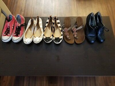 Lot of 5 size 11 and 12 Women's Shoes