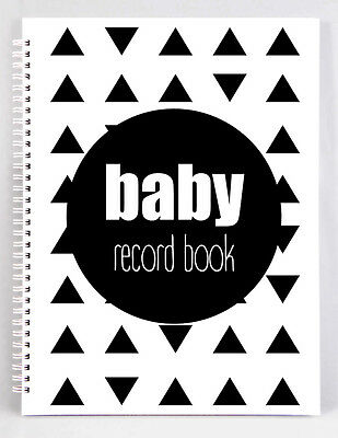 ON SALE NOW! Baby Record Book - Geometric Triangles - Basic - DISCONTINUED