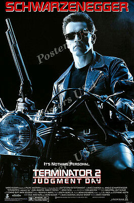 Posters USA - Terminator 2 Judgment Day Movie Poster Glossy Finish - MOV078