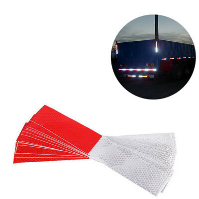 10pcs Lot 30x5cm High Visibility Reflective Warning Conspicuity Tape Sticker