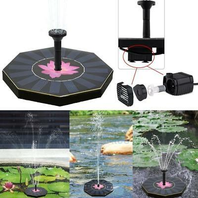 solar pumpe teichpumpe mit akku springbrunnen brunnen garten teich wasserspiel eur 13 99. Black Bedroom Furniture Sets. Home Design Ideas