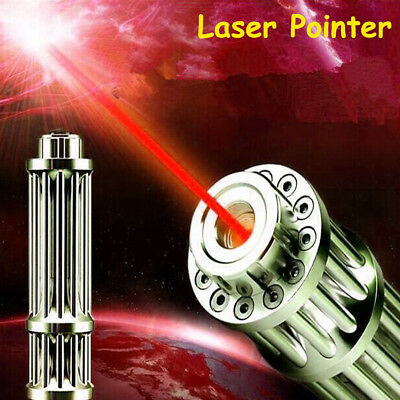 Laser Cannon Beam Powerful High Power Green/Red Light Laser Lazer Pointer Pen UK