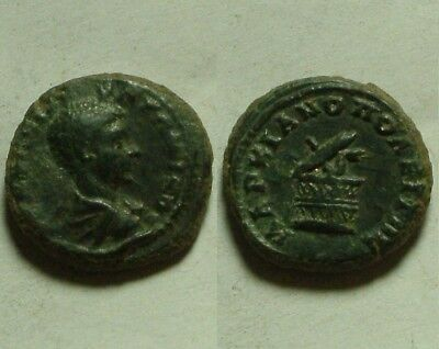One original Ancient Roman Bronze Coin provincial issue