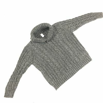 Old Navy Boys Sweater Gray Pullover 100% Cotton Shaw Collar Size 4T #T10