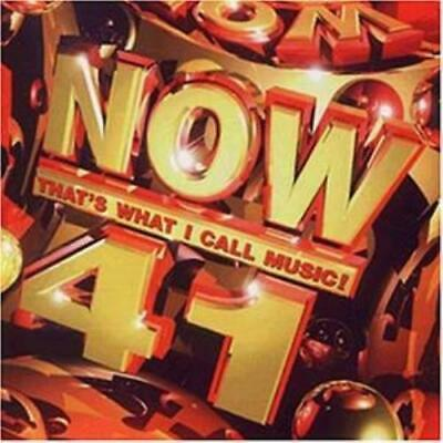 Various Artists : Now Thats What I Call Music! Vol. 41 CD FREE Shipping, Save £s