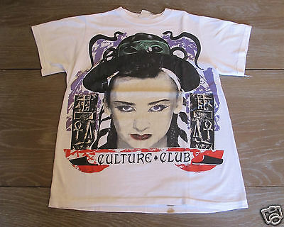Vintage 1984 Culture Club T-Shirt Original