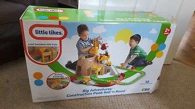 little tikes big adventures construction peak rail and road instructions