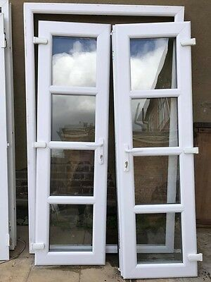 Upvc patio french doors picclick uk for External french doors and frame