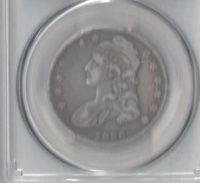 1836 Capped Bust PCGS VF30 Lettered Edge fifty cent piece-very nice