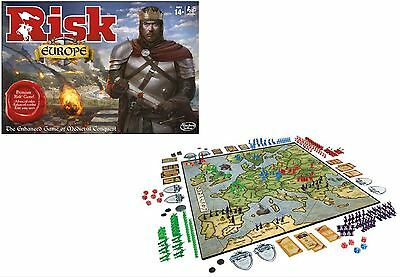 Risk European Edition - Strategy Board Game