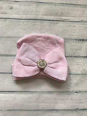 Baby Girls Clothes - Cute Newborn Bow Hat
