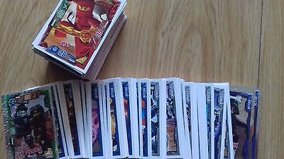 Ninjago Cards series1 5 for £1. Includes foils, lots of numbers. perfect cond.