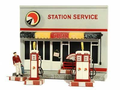 STATION SERVICE Diorama - 1/43 scale partwork model