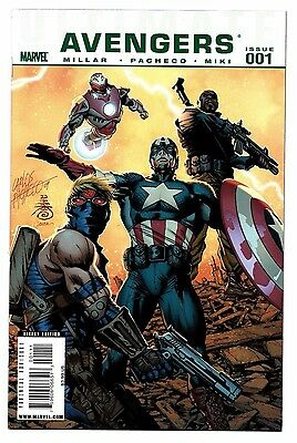 Ultimate Avengers #1 2 3 4 5 6 Full Set Marvel Mark Millar Carlos Pacheco