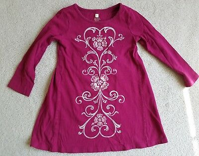 Toddler Girl's TEA COLLECTION  Long Sleeve Dress Size 3