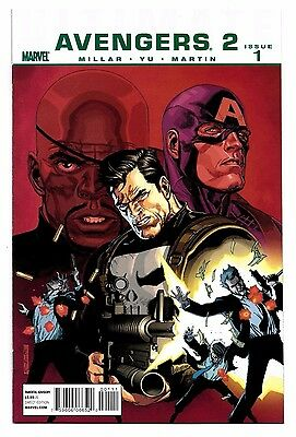 Ultimate Avengers 2 #1 2 3 4 5 6 Full Set Marvel Mark Millar Leinil Francis Yu