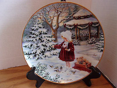 A Season of Sharing by Dona Gelsinger, Collectors Plate
