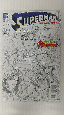 Superman New 52 #23 - 1:25 Variant -VF/NM - Kenneth Rocafort Cover!