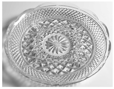 Anchor Hocking WEXFORD Glass 5 Section Relish Dish platter diamond serving tray