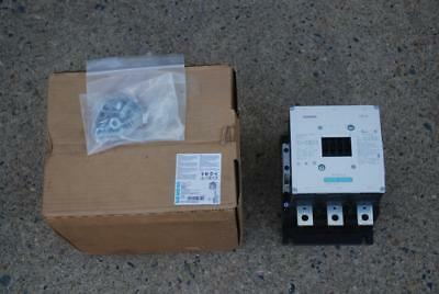 SIEMENS 3RT1076-6AR36 CONTACTOR 3 POLE 500 AMPS 440-480VAC Coil IEC Rated  NEW
