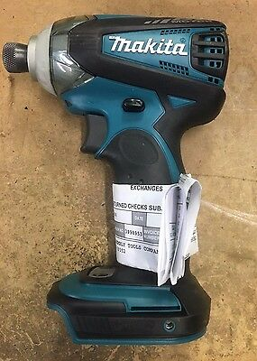 Makita BTD144Z Cordless Impact Driver, 3-speed; Factory Rebuilt, Tool only, 18V