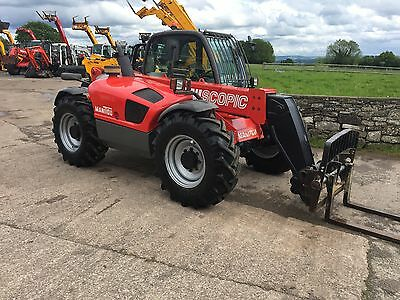 * * MANITOU MT732 * YR07 * ONLY 4300 HRS * 7m REACH * * * LOADALL TELEHANDLER *