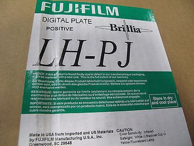 Fuji Film Lh-Pj Digital Plate Positive 50/box 660 X 745 X 0.3 (Nib)
