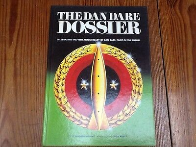 The Dan Dare Dossier Hardback Book.