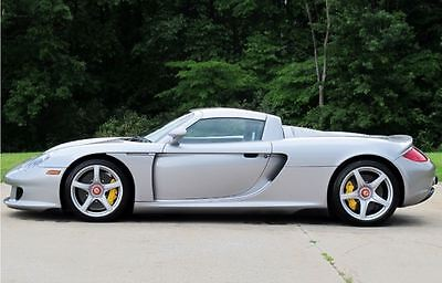 2005 Porsche Carrera GT .....ONLY 736 MILES! Privately Owned....Collector Quality.....Full Luggage....Major Service July 2017