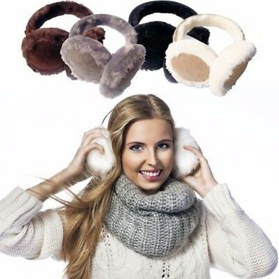 Women's Faux Fur Insulated Ear Muffs - in 4 Colors