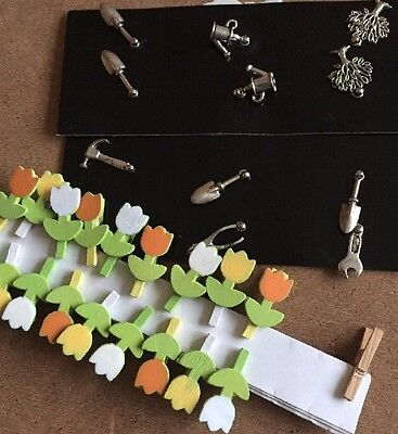 Tulip Pegs And DIY Charms