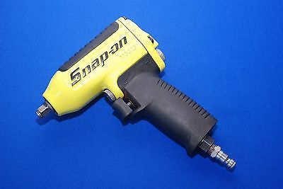 """Snap-On Tools 3/8"""" Drive Impact Wrench Yellow MG325 Near New SHIPS FREE"""