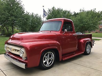 1953 Ford F-100 Pick-up 1953 Ford F100 Resto-Mod * 350 / 700R4!  COLD A/C! * MAGAZINE FEATURE TRUCK!