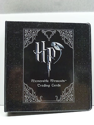 Harry Potter Memorable Moments CC Binder Base Set Promos Foils BoxTop Coin Cards