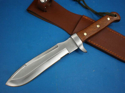 "HOT! 11.75"" 3.8mm SHARP Full Tang camp jungle survival hunting knife FK106"