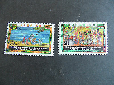 Jamaica 1996 Sg 894-895 150Th Anniv Of Indian Immigration Used