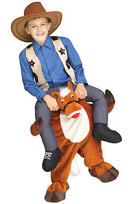 Brand New Carry Me Horse Riding Western Child Costume