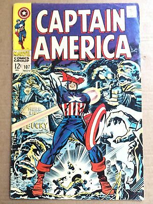 Captain America #107 *1st Dr. Faustus* *Red Skull and Hitler Cover*