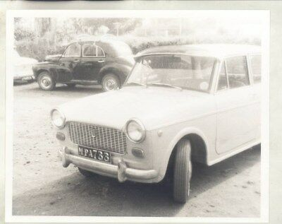 1963 ? Fiat 1100D in India ORIGINAL Factory Photograph wy3452