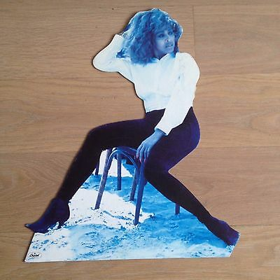 Tina Turner - Small Official Shop Promo Display Board - Rare - Foreign Affair