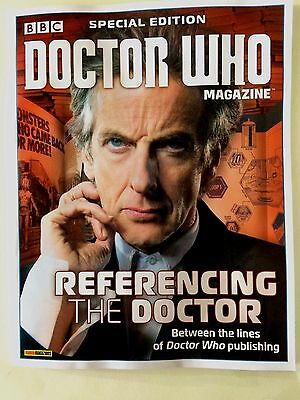 Bbc Doctor Who Magazine Special Edition # 47 Referencing The Doctor Dr Who +More