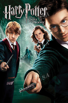 MOV220 Posters USA Harry Potter Harry and Hogwarts Movie Poster Glossy