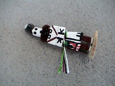 Auth.Native American Indian Mini Zuni Chief Kachina by Colleen Parker