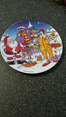 Vintage Collectible McDonald's Christmas Plate 2000 - Great Condition