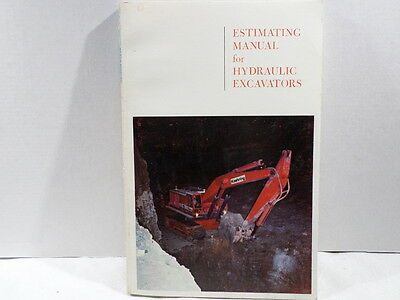 Koehring Estimating Manual for Hydraulic Excavators