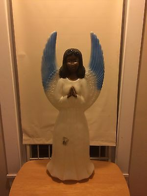 New Listing. Angel 😇 Blow Mold Union Product Black Angel