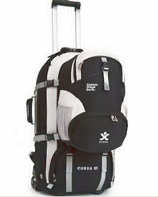Explore Planet Earth Cursa 65L Wheeled Travel Backpack - black